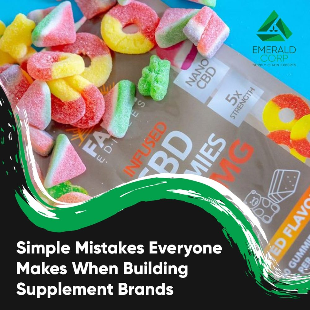 Simple Mistakes Everyone Makes When Building Supplement Brands.